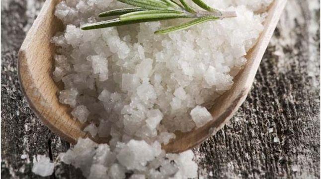 saltskrubb er velvære