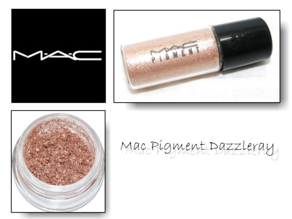 mac pigment dazzleray