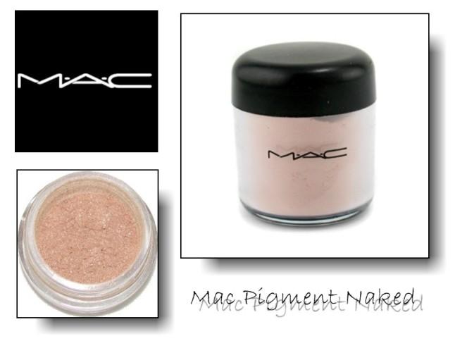 mac pigments naked