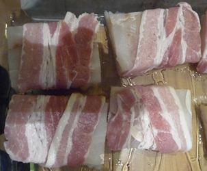 torsk og bacon