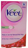 Veet Wax Strips Ansikt