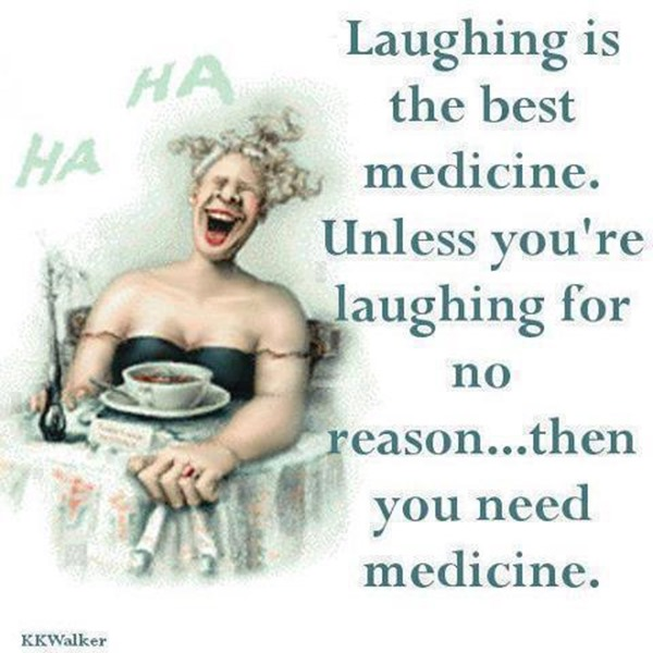 laughing is medicine